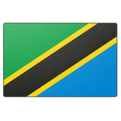 Tanzania vlag (200x300cm)