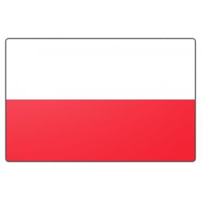 Polen vlag (150x225cm)