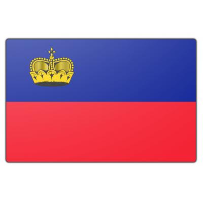 Liechtenstein vlag (200x300cm)