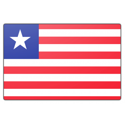Liberia vlag (100x150cm)