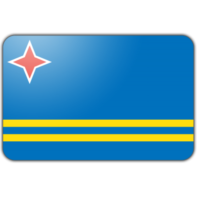 Aruba vlag (200x300cm)