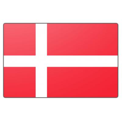 Denemarken vlag (200x300cm)