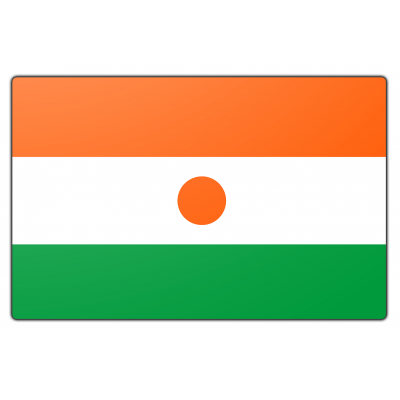 Niger vlag (200x300cm)
