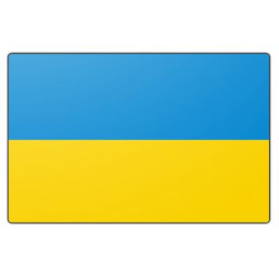 Oekraine vlag (200x300cm)