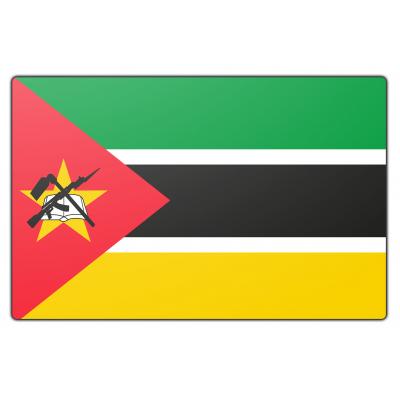 Mozambique vlag (150x225cm)