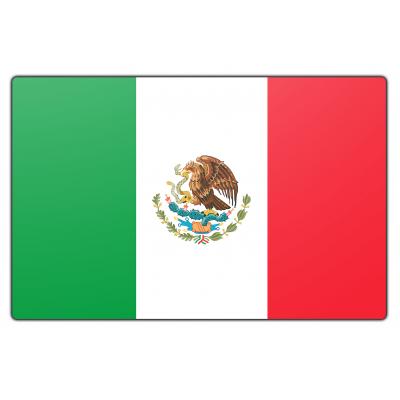 Mexico vlag (70x100cm)