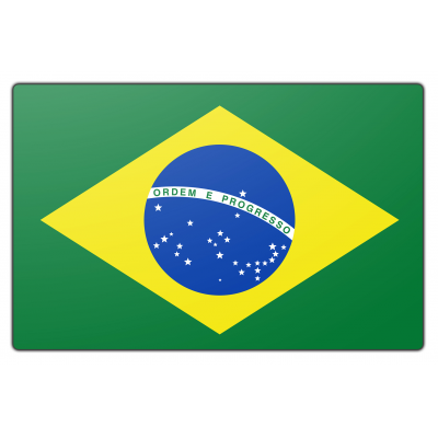 Brazilië vlag (200x300cm)