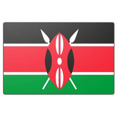Kenya vlag (70x100cm)