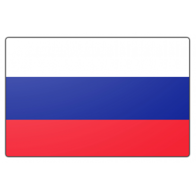 Rusland vlag (200x300cm)