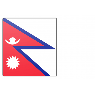 Nepal vlag (100x150cm)