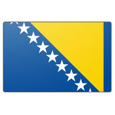 Bosnië Herzegovina vlag (70x100cm)