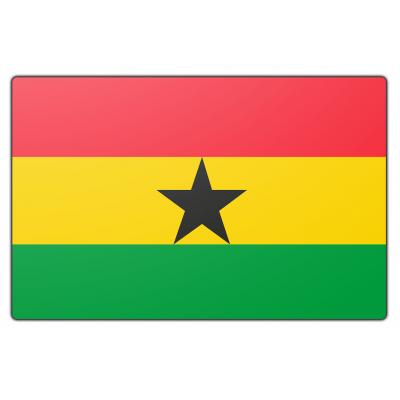 Ghana vlag (200x300cm)