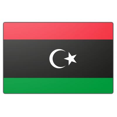 Libië vlag (70x100cm)