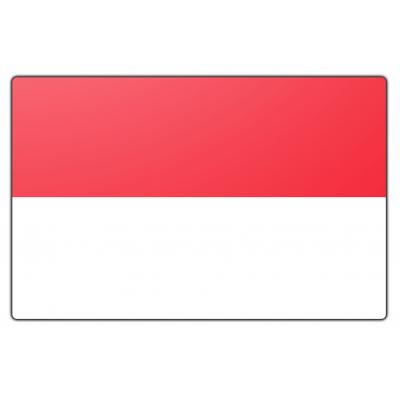 Monaco vlag (150x225cm)