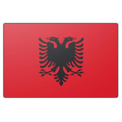 Albanië vlag (70x100cm)