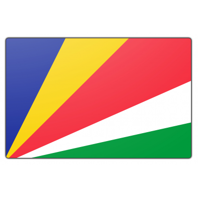 Seychellen vlag (200x300cm)