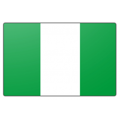 Nigeria vlag (200x300cm)