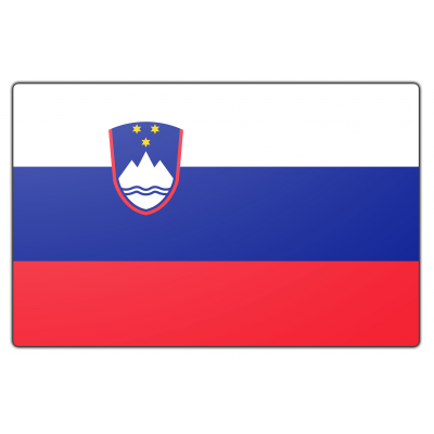 Slovenië vlag (200x300cm)