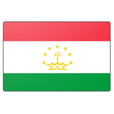Tadzjikistan vlag (150x225cm)