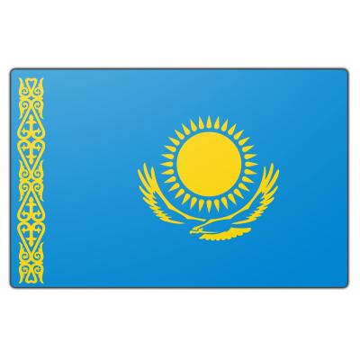 Kazachstan vlag (100x150cm)