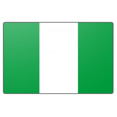 Nigeria vlag (100x150cm)