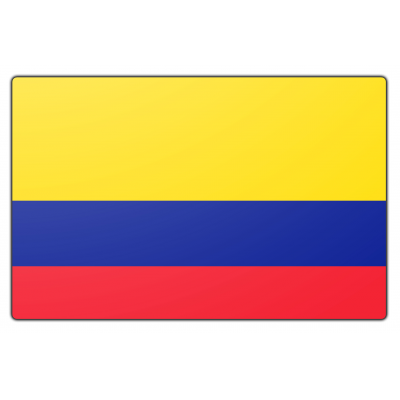 Colombia vlag (70x100cm)