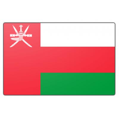 Oman vlag (100x150cm)