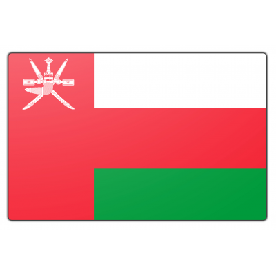 Oman vlag (70x100cm)
