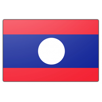 Laos vlag (100x150cm)