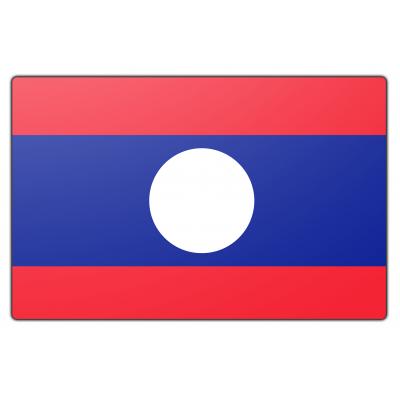 Laos vlag (150x225cm)