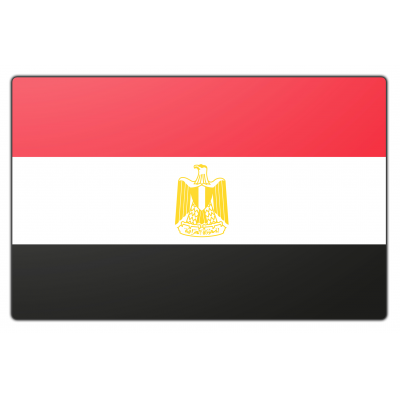 Egypte vlag (200x300cm)