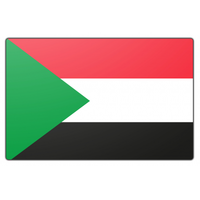 Sudan vlag (150x225cm)