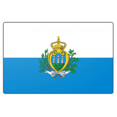 San Marino vlag (200x300cm)