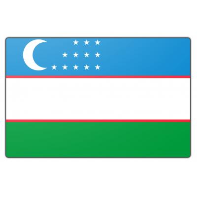 Oezbekistan vlag (100x150cm)