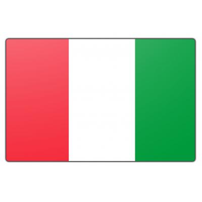 Italië vlag (70x100cm)