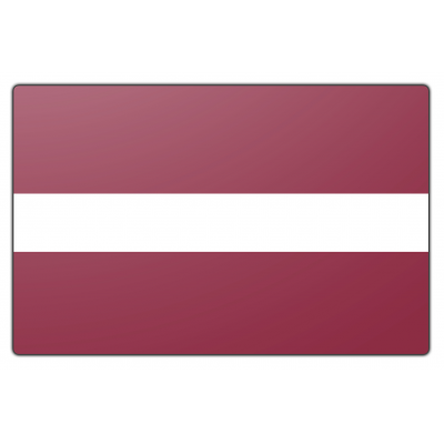 Letland vlag (70x100cm)
