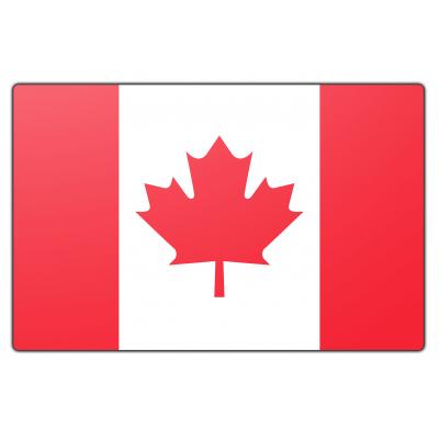 Canada vlag (200x300cm)
