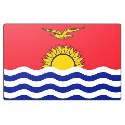 Kiribati vlag (200x300cm)