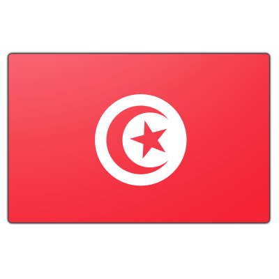 Tunesië vlag (100x150cm)