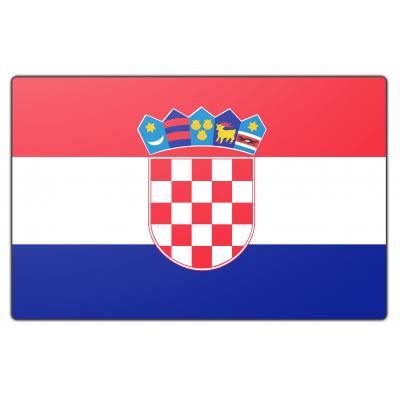Kroatië vlag (150x225cm)