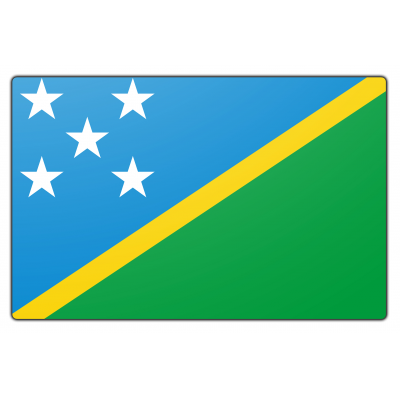 Salomonseilanden vlag (100x150cm)