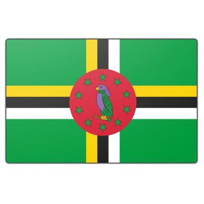 Dominica vlag (200x300cm)