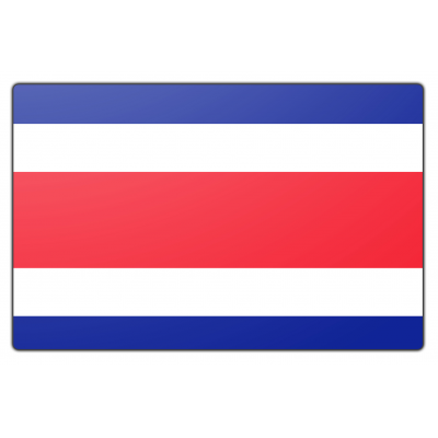 Costa Rica vlag (200x300cm)