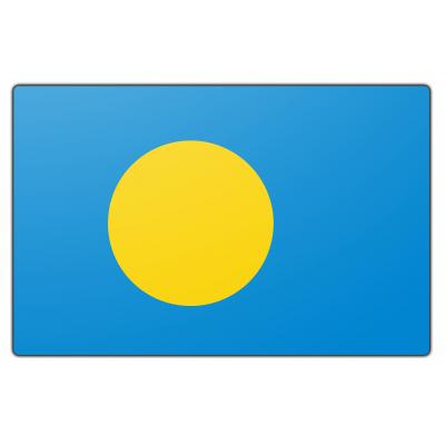 Palau vlag (70x100cm)