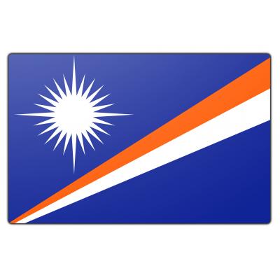 Marchalleilanden vlag (70x100cm)