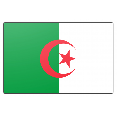 Algerije vlag (70x100cm)