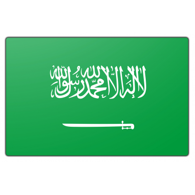 Saudi-Arabië vlag (70x100cm)