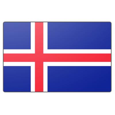 IJsland vlag (70x100cm)