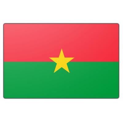 Burkina Faso vlag (70x100cm)