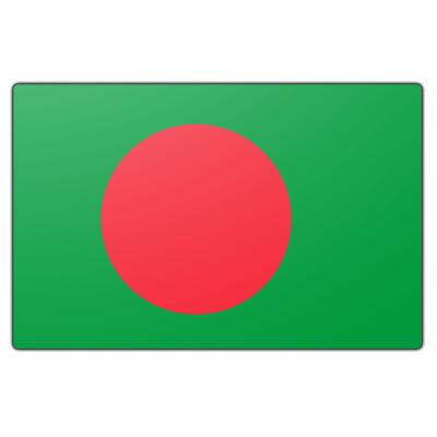 Bangladesh vlag (200x300cm)